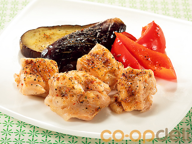 鶏モモ肉のスパイスグリル焼き